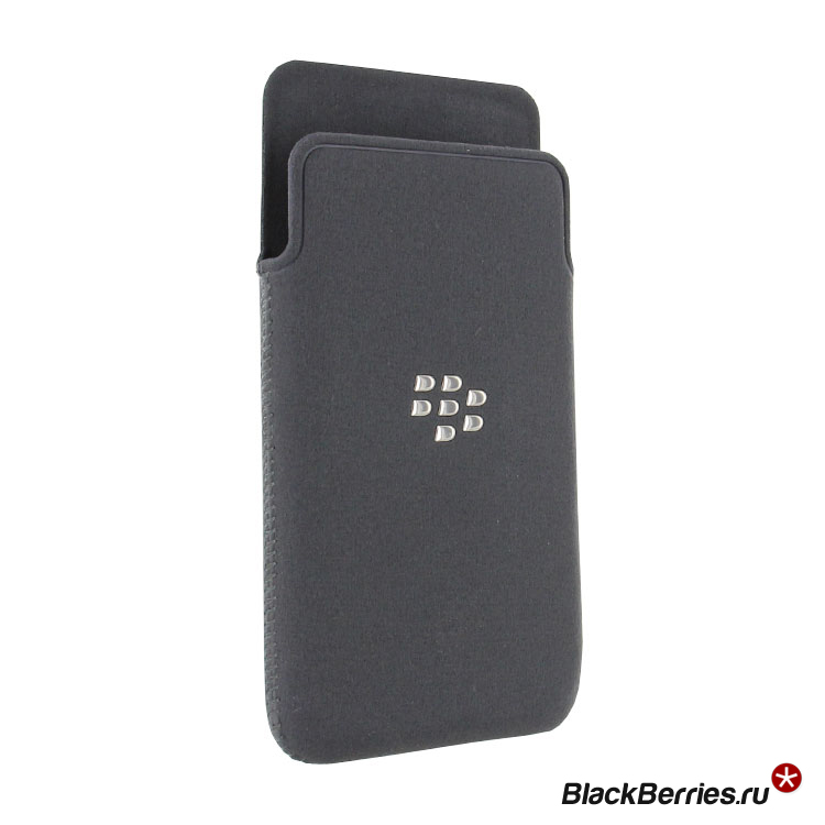 BlackBerry Z10 Microfiber Pocket Gray