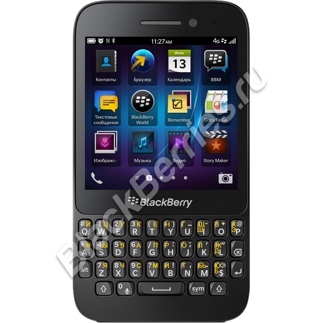 BlackBerry Q5 4G Black
