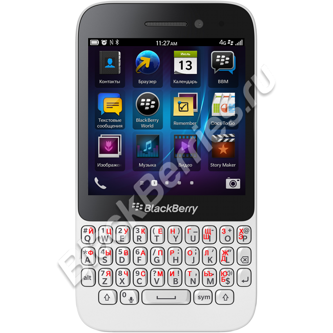 BlackBerry Q5 4G White
