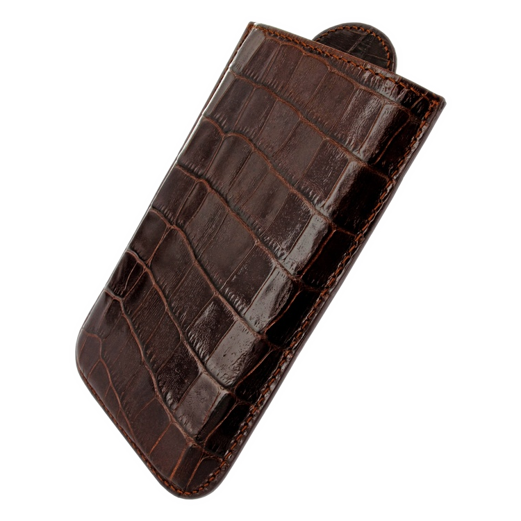 Чехол BlackBerry Z10 Pull Crocodile Brown