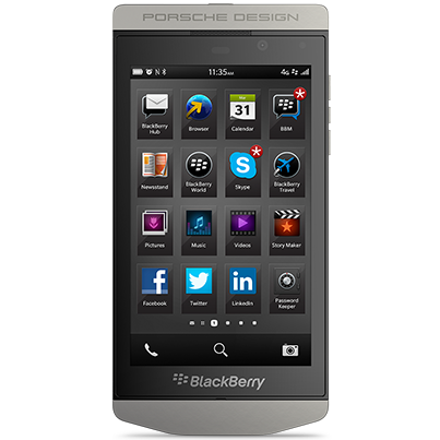 EMI (Easy Installments) blackberry p 9982 porsche design black