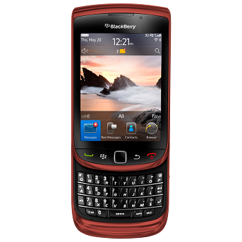 BlackBerry 9800 Torch Red