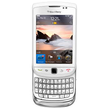 BlackBerry 9810 Torch White