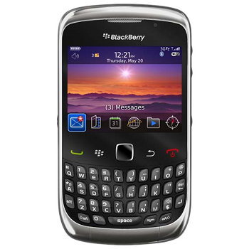 BlackBerry 9300 Curve 3G Black