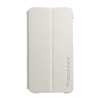 BlackBerry Z10 Flip Shell Case White